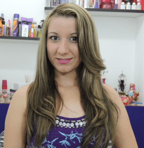 cabelos com luzes inversas como fazer
