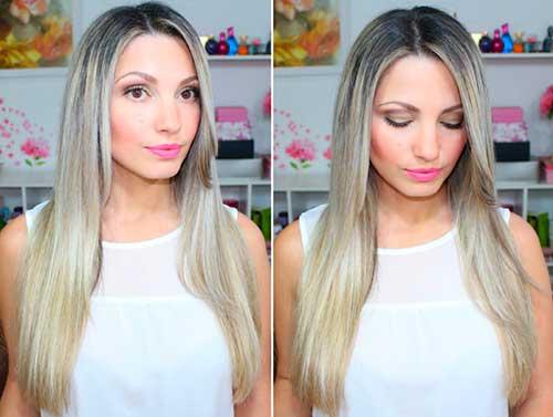cabelos com luzes platinado como fazer