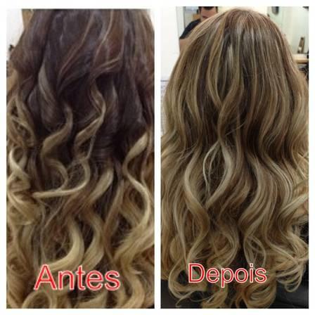 clareamento natural dos cabelos
