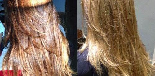 clarear o cabelo com mel