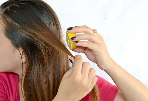 como clarear o cabelo naturalmente com limão