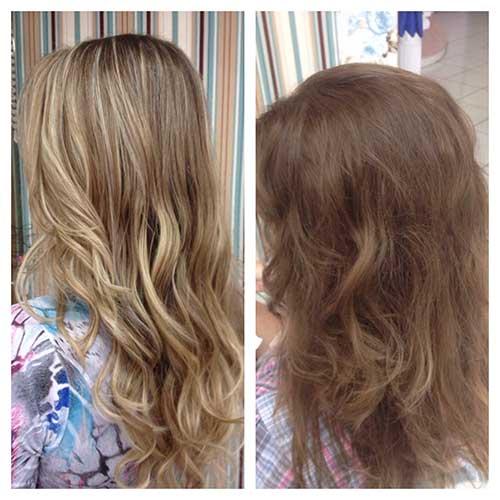 como clarear o cabelo naturalmente resultados