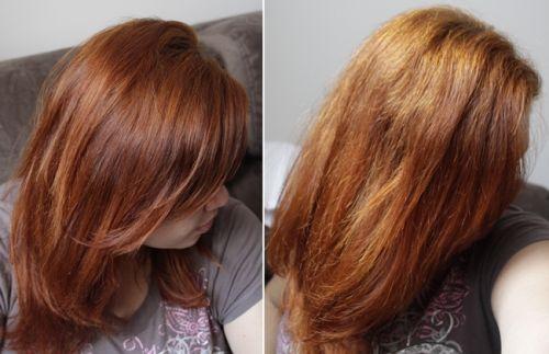 como clarear o cabelo tingido