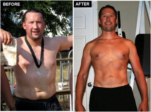 dieta do guerreiro antes e depois