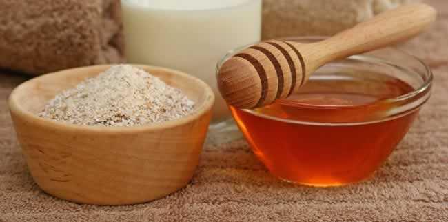 esfoliante caseiro para o corpo mel e aveia