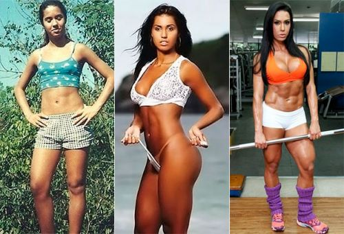 gracyanne barbosa antes e depois