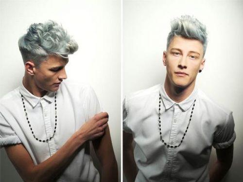 granny hair masculino
