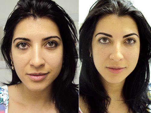 maquiagem definitiva nos olhos resultados