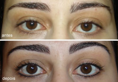 maquiagem definitiva nos olhos