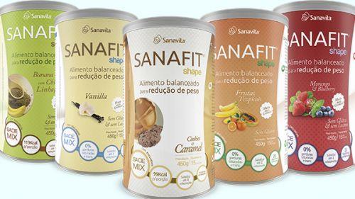 shake para emagrecer sanafit