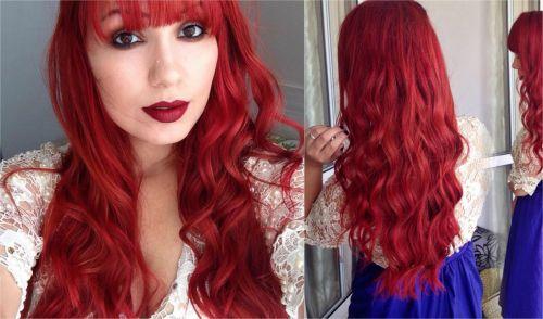 vermelho ariel